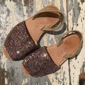 Super FUN glitter Marena Sandals from Spain